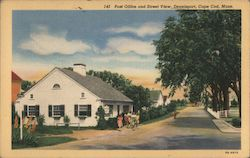 Post Office and Street View, Dennisport, Cape Cod