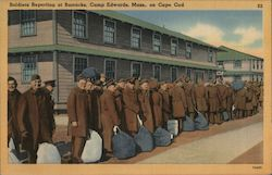 Soldiers Reporting at Barracks, Camp Edwards