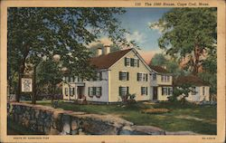 The 1680 House, Cape Cod Postcard