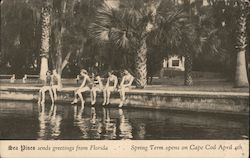 Sea Pines Sends Greeting from Florida Postcard