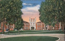 Walter Williams Hall, University of Missouri, Columbia, MO. -35 Postcard