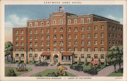 Kentwood Arms Hotel Postcard