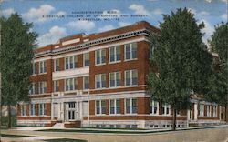 Administration Bldg., Kirksville College of Osteopathy and Surgery Postcard