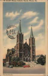 St. Joseph's Roman Catholic Church Postcard