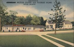 Shuman's Motor Court and Tourist Home