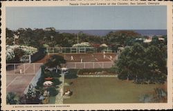 Tennis Courts and Lawns at the Cloister