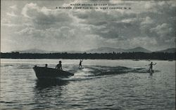 Water Skiing at Camp Cody, A Summer Camp for Boys
