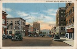 Wenatchee Avenue Postcard