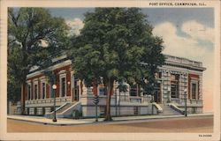 Post Office, Champaign, Ill.