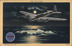 Boeing B-17 Flying Fortress Postcard