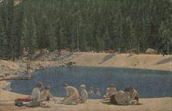 Swimming Pool at Lodgepole, Sequoia National Park