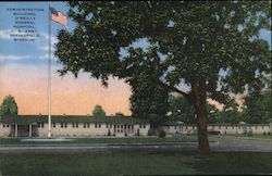 Administration Building, O'Reilly General Hospital, U.S. Army Postcard