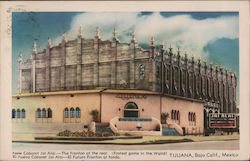New Cabaret Jai Alai, the Fronton at the Rear - Fastest Game in the World