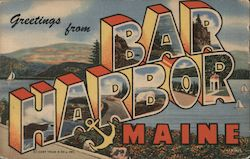Greetings from Bar Harbor Maine