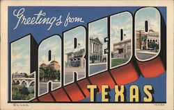Greetings from Laredo, Texas Postcard