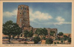 The Watchtower at Desert View Postcard