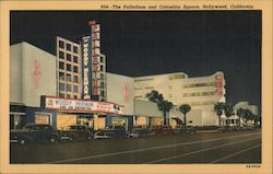 The Palladium and Columbia Square