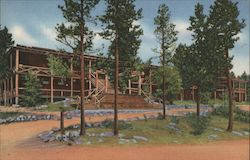 2218 Grand Lake Lodge, Rocky Mountain National Park Postcard