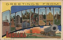Greetings from Richmond, Indiana