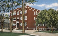 Catholic High School Postcard