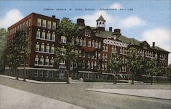Joseph John's Jr. High School Postcard