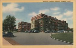 Norwalk General Hospital Postcard