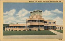 Memorial Field Airport Postcard