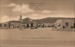 The Stony Wold Motel Postcard