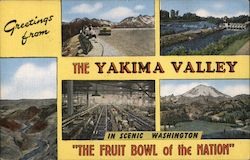 Greetins from The Yakima Valley Postcard
