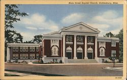 Main Street Baptist Church, Hattiesburg, Miss.