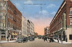 Fifth Street Postcard