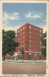 Hotel Greenville Postcard