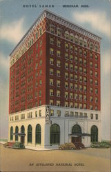 Hotel Lamar, An Affiliated National Hotel Postcard