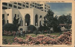 Edgewater Gulf Hotel, Midway Between Gulfport and Biloxi Postcard