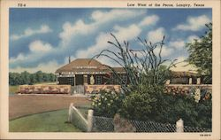 Law West of the Pecos, Langtry, Texas Postcard