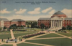 Central Campus Quadrangle, Southern Methodist University