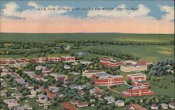 Aerial View of Texas State College for Women Postcard