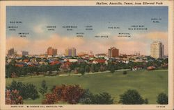 Skyline, Amarillo, Texas from Ellwood Park
