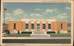 New U.S. Post Office, Big Spring, Texas