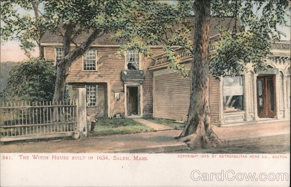 The Witch House Built in 1634 Salem Massachusetts