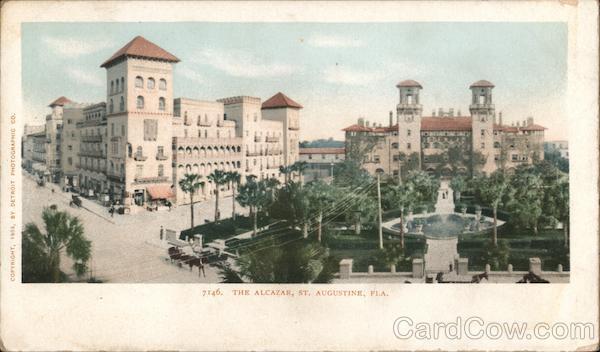 The Alcazar St. Augustine Florida