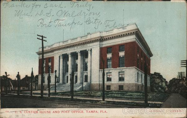 U.S. Custom House and Post Office Tampa Florida