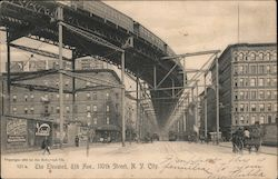 The Elevated, 8th Ave., 110th Street