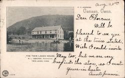The Twin Lakes House Postcard