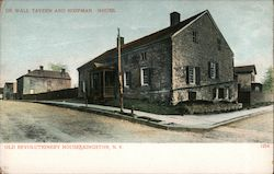 De Wall Tavern and Hoffman House, Old Revolutionary Houses Postcard