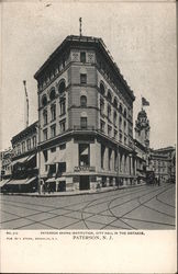 Paterson Saving Institution Postcard