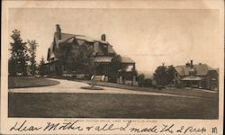 Revell and Holton Halls Postcard