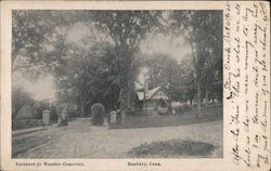 Entrance to Wooster Cemetery