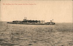 The Rip Raps, Fort Woll Postcard