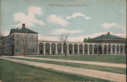 North College Postcard